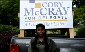 Charlese Mickens Endorses Cory McCray For Delegate