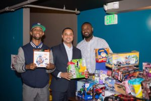 Dels and Councilman Toy Drive